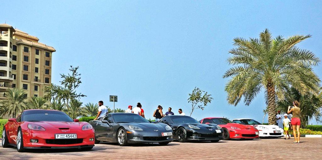 Mingling with Corvette UAE Club - 3