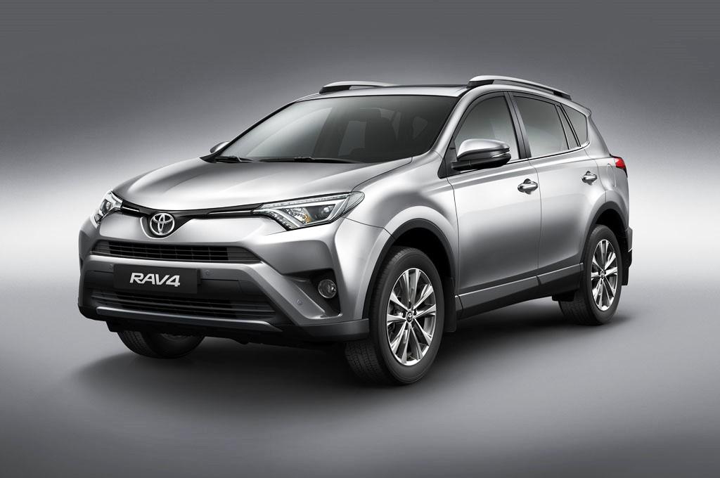 2017 Toyota RAV4 Front