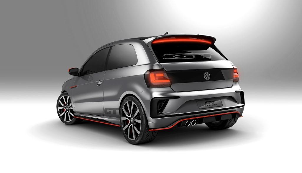 Volkswagen Gol GT Concept Rear