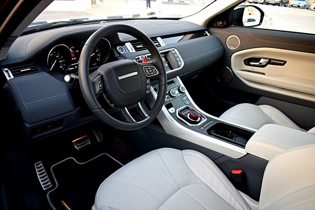 Interior Range Rover Evoque 2017