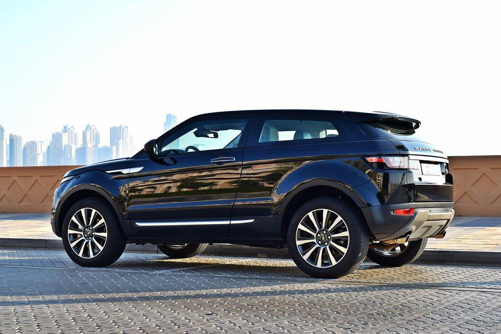 2017 Range Rover Evoque Side - 2