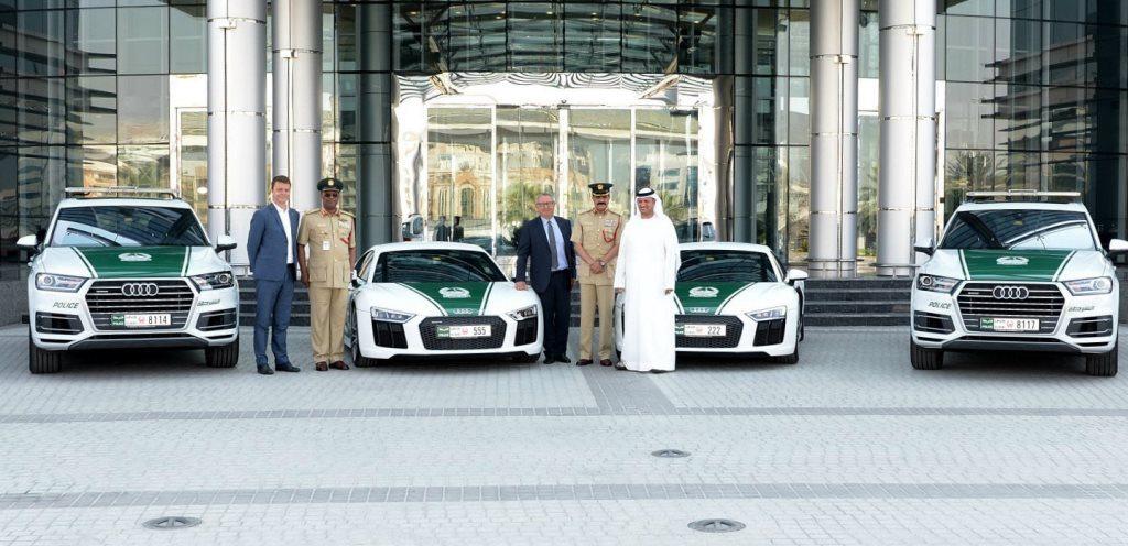 Dubai Police Audi Fleet