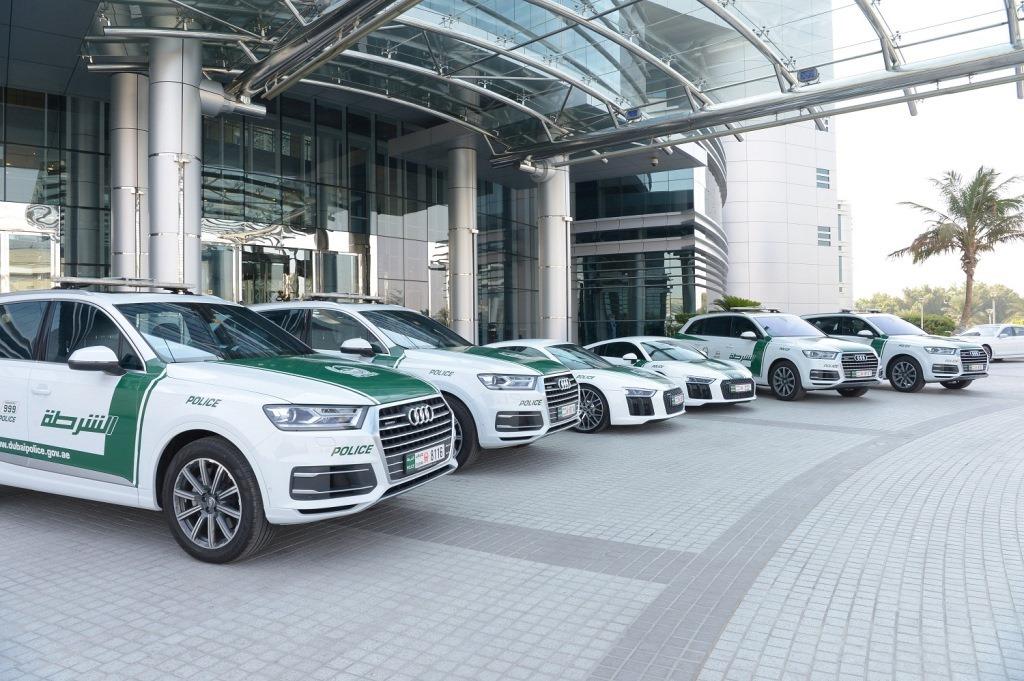 Audi Dubai Police Fleet - 2