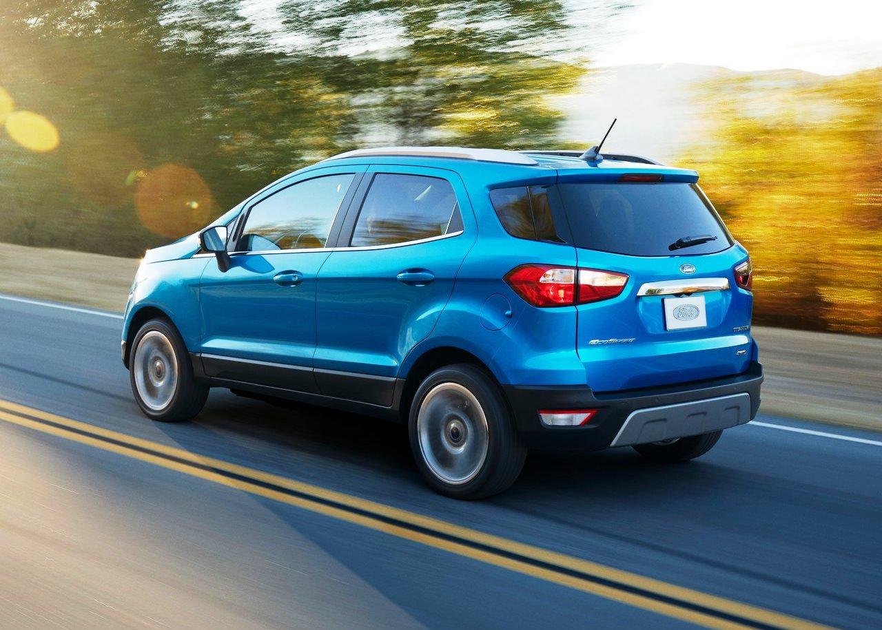 2017 Ford EcoSport Rear