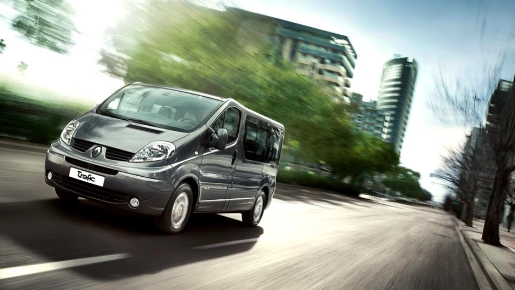 Renault Trafic Front