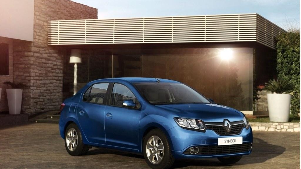 Renault Symbol Front