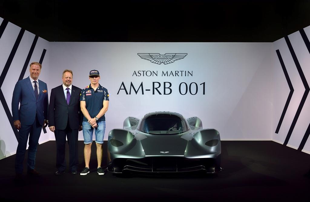 AMRB 001 Unveil Front - 2
