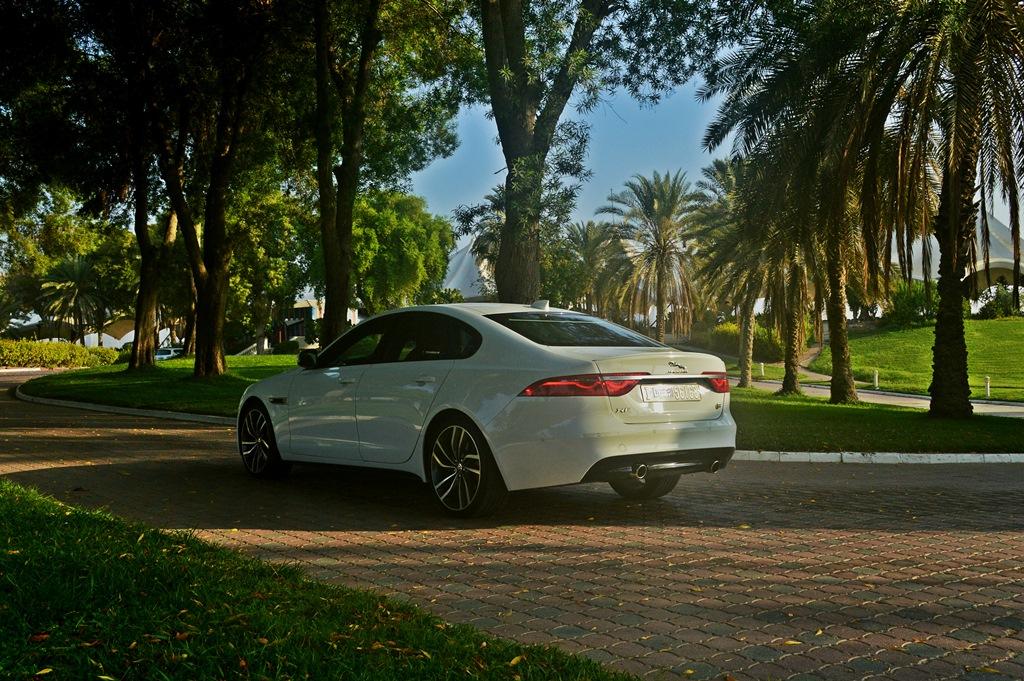 Jaguar XF S 2016 Rear