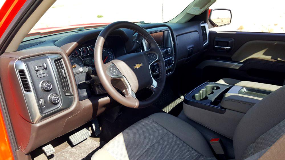Chevrolet Silverado 2016 Interior
