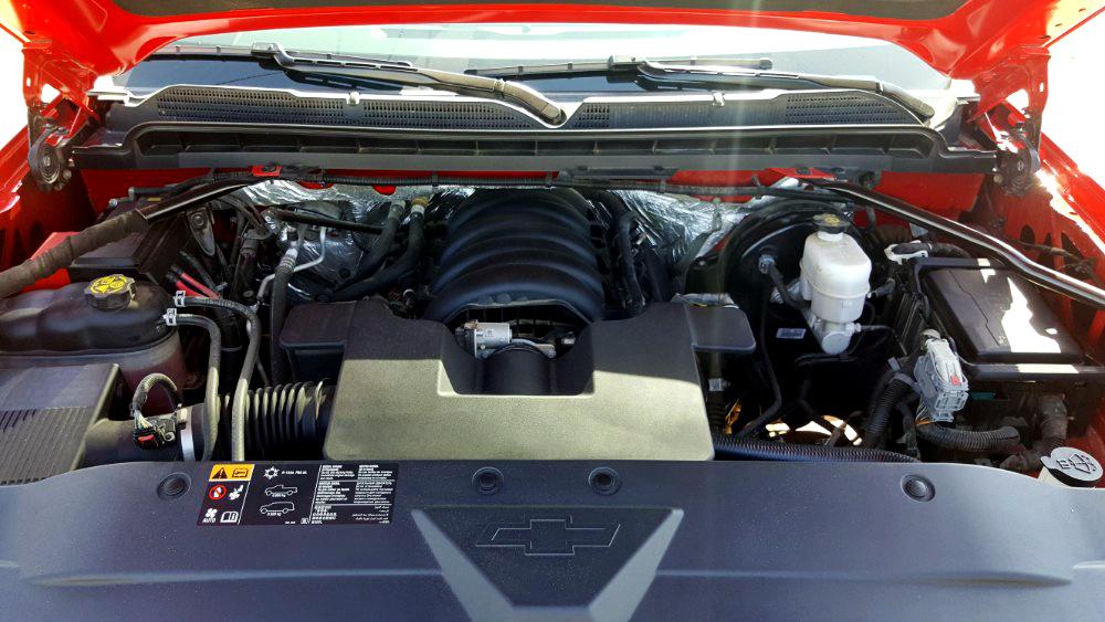 Chevrolet Silverado 2016 Engine Bay
