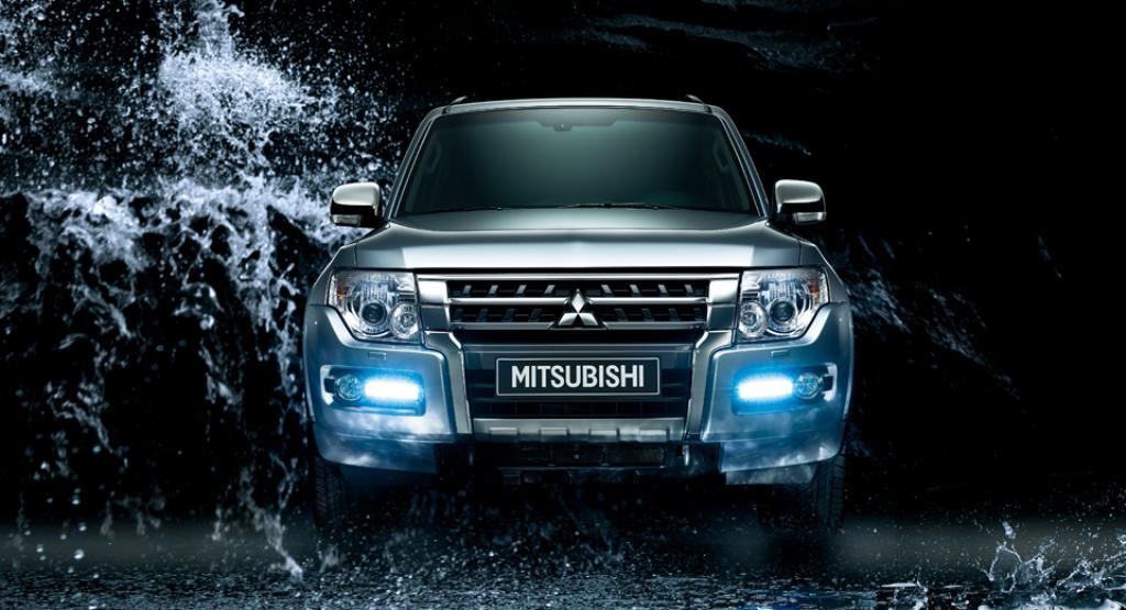 Mitsubishi Pajero Front