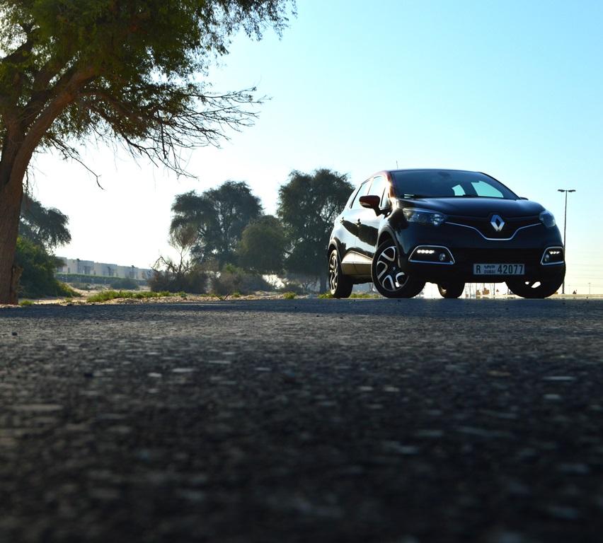 Renault Captur 2016 Front