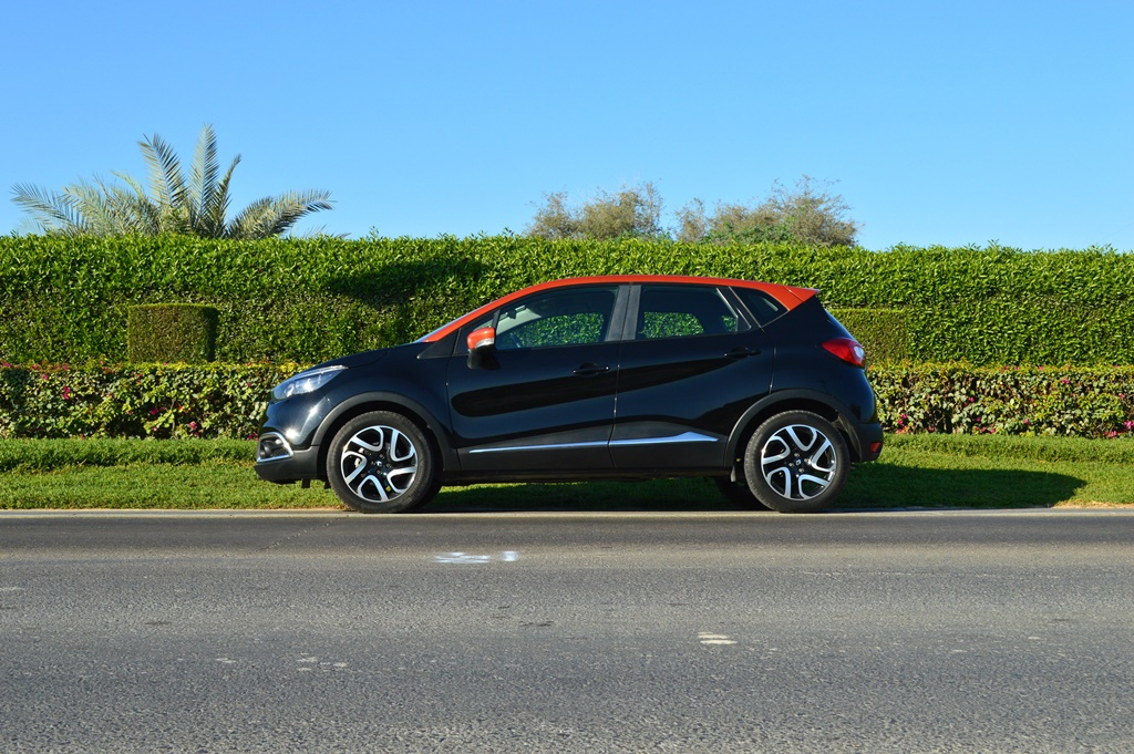 2016 Renault Captur Side
