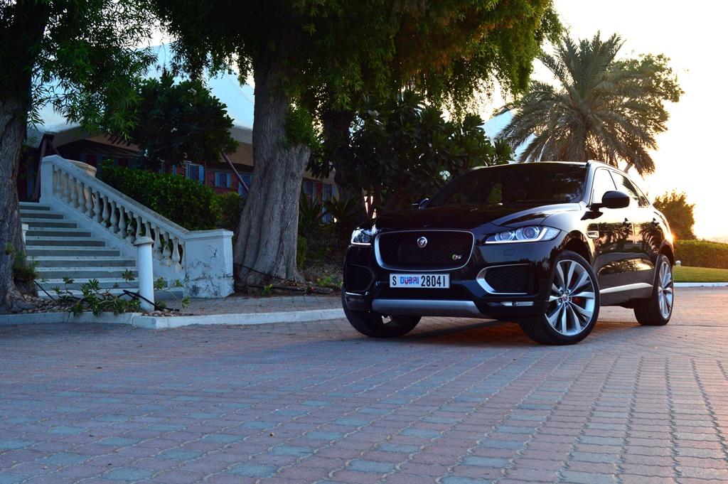 Jaguar F Pace 2017 Front