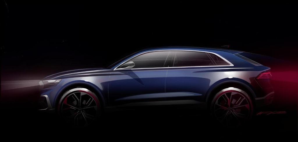 Audi Q8 Side