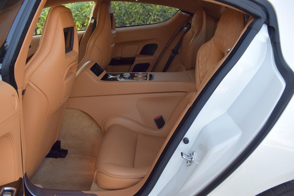 Aston Martin Rapide S 2017 Rear Seat