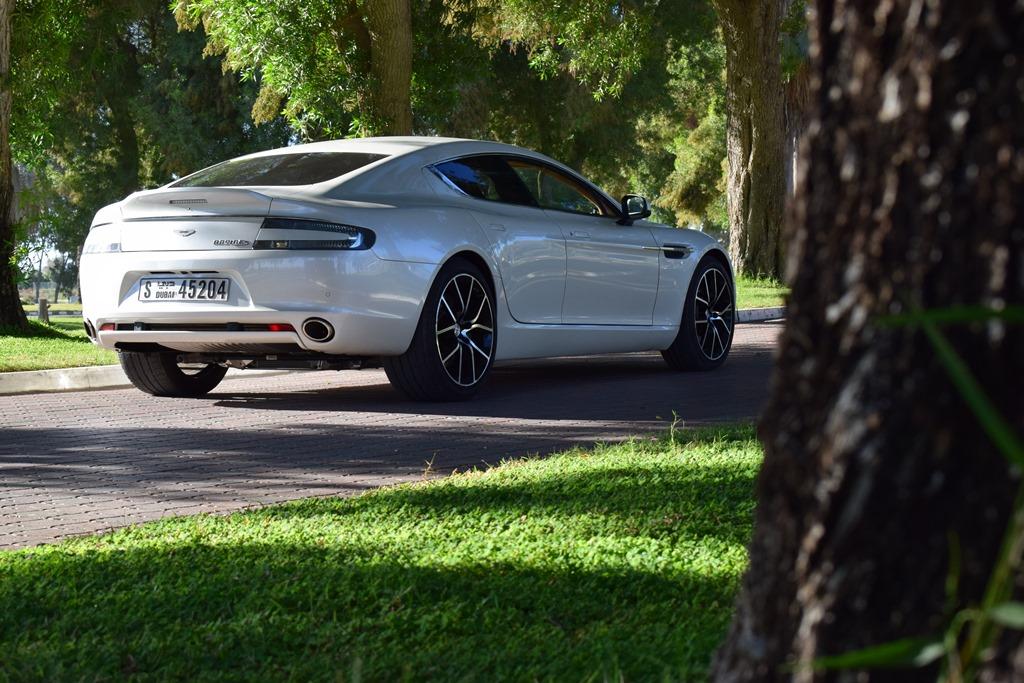 Aston Martin Rapide S 2017 Rear