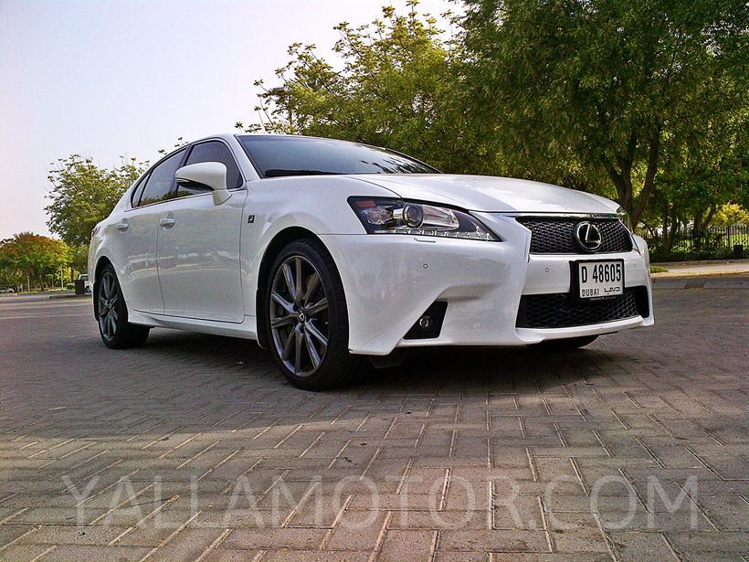 road test 2014 lexus gs 350 f sport in uae bahrain yallamotor. Black Bedroom Furniture Sets. Home Design Ideas