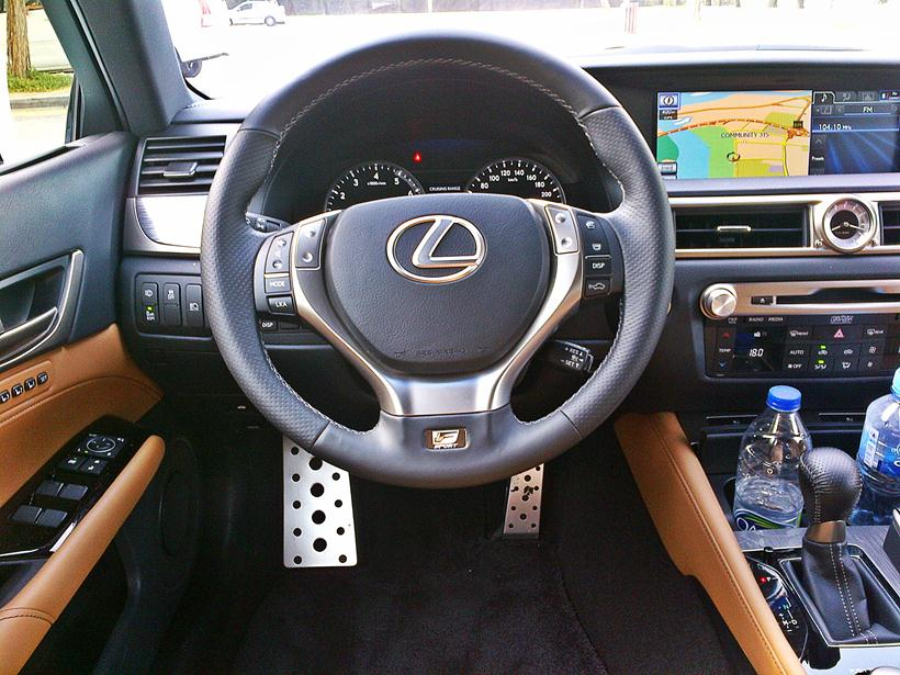 Road Test 2014 Lexus Gs 350 F Sport In Uae Qatar
