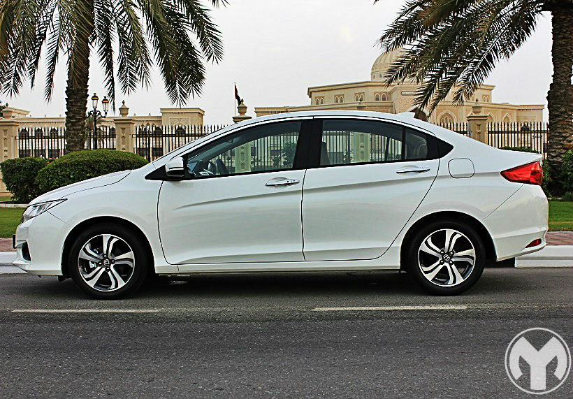 Road test 2015 honda city bahrain yallamotor for Motor city road test