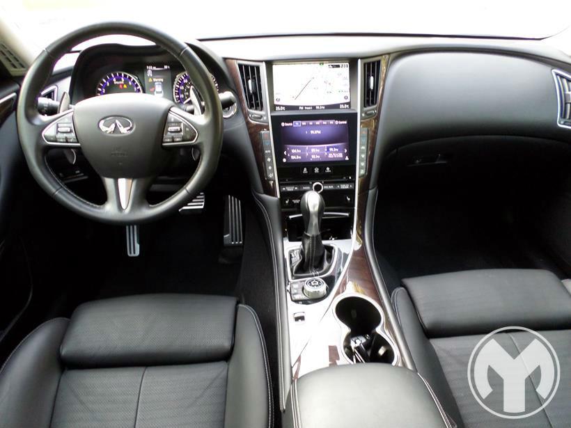 Road Test Review 2014 2015 Infiniti Q50 3 7 Sport In Dubai Uae Uae Yallamotor