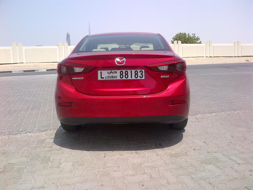 Road Test Review: 2015 Mazda 3 Sedan in Dubai, UAE | UAE