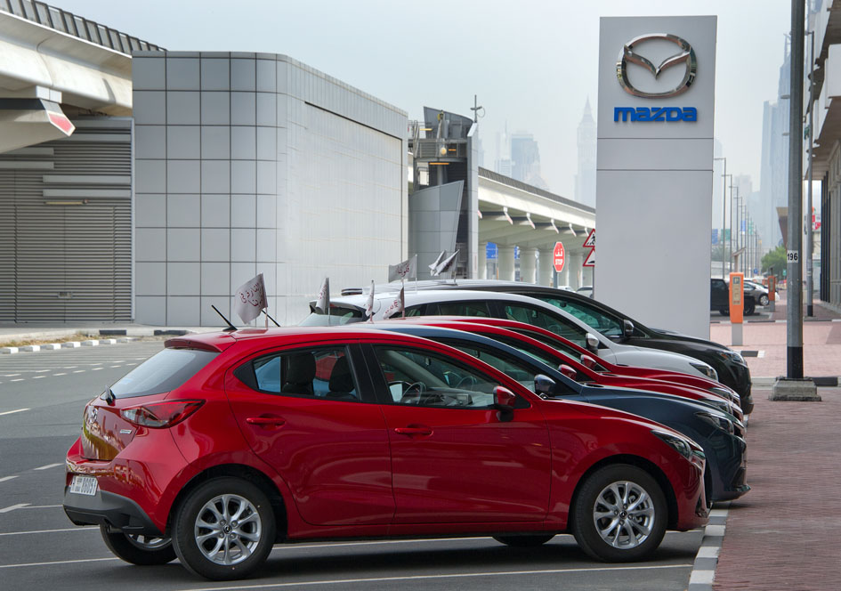 Mazda opens new Showroom in Sharjah | UAE - YallaMotor