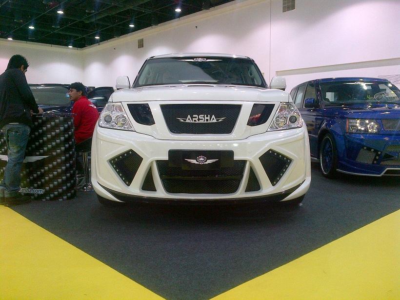 Modified cars in Al Ain Motor Show | Qatar - YallaMotor