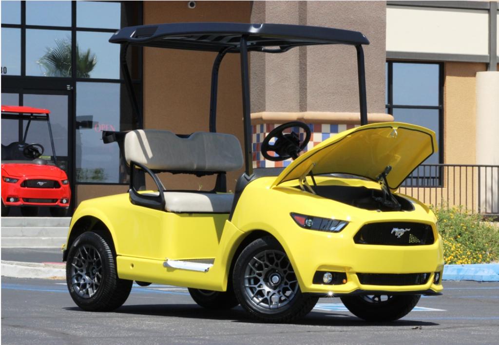 Luxury golf carts increasing in popularity | UAE - YallaMotor