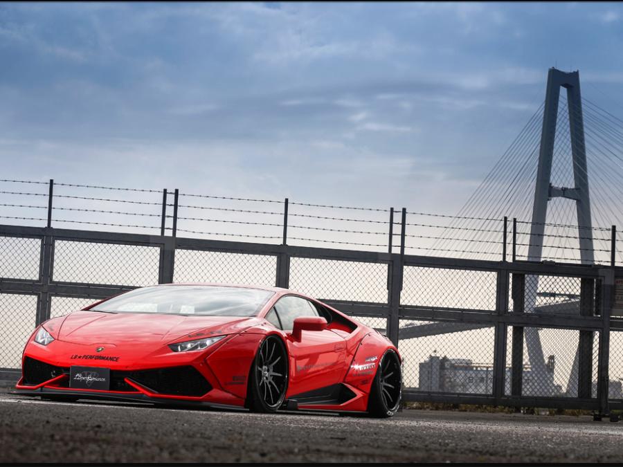 ... Liberty Walk Releases Body Kit For Lamborghini Huracan ...