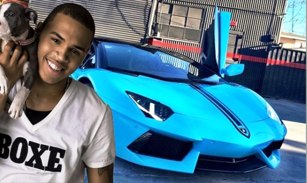 Chris Brown Cars: Chris Brown And His Exotic Car Garage