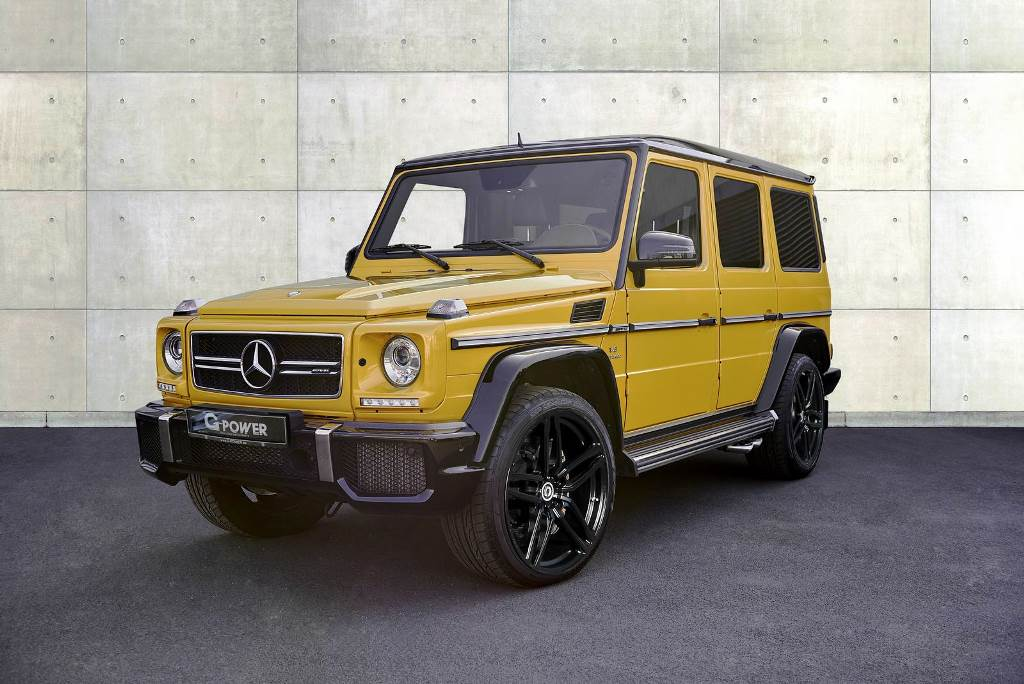 Mercedes Benz G63 AMG churns out 645 horsepower after G