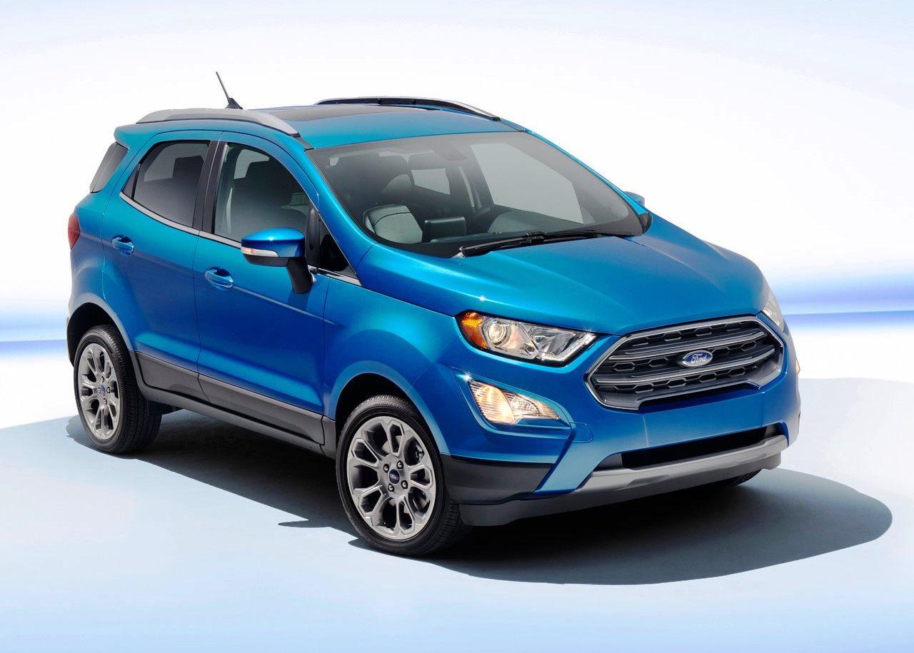 Ford ecosport 2017 undergoes restyling