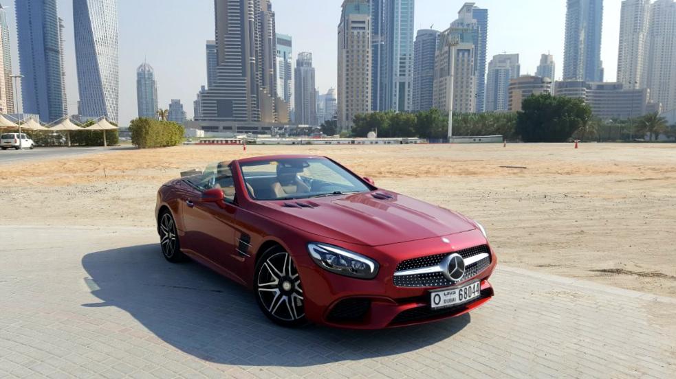 Mercedes Benz Sl400 Front