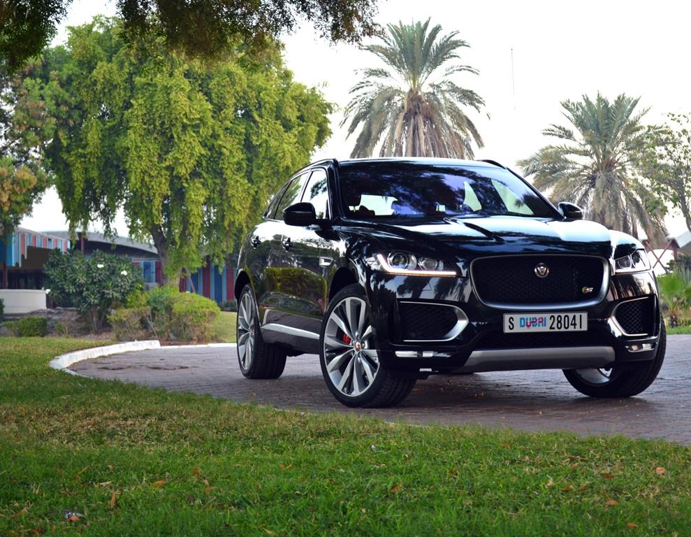 jaguar f pace 2017 review bahrain yallamotor. Black Bedroom Furniture Sets. Home Design Ideas