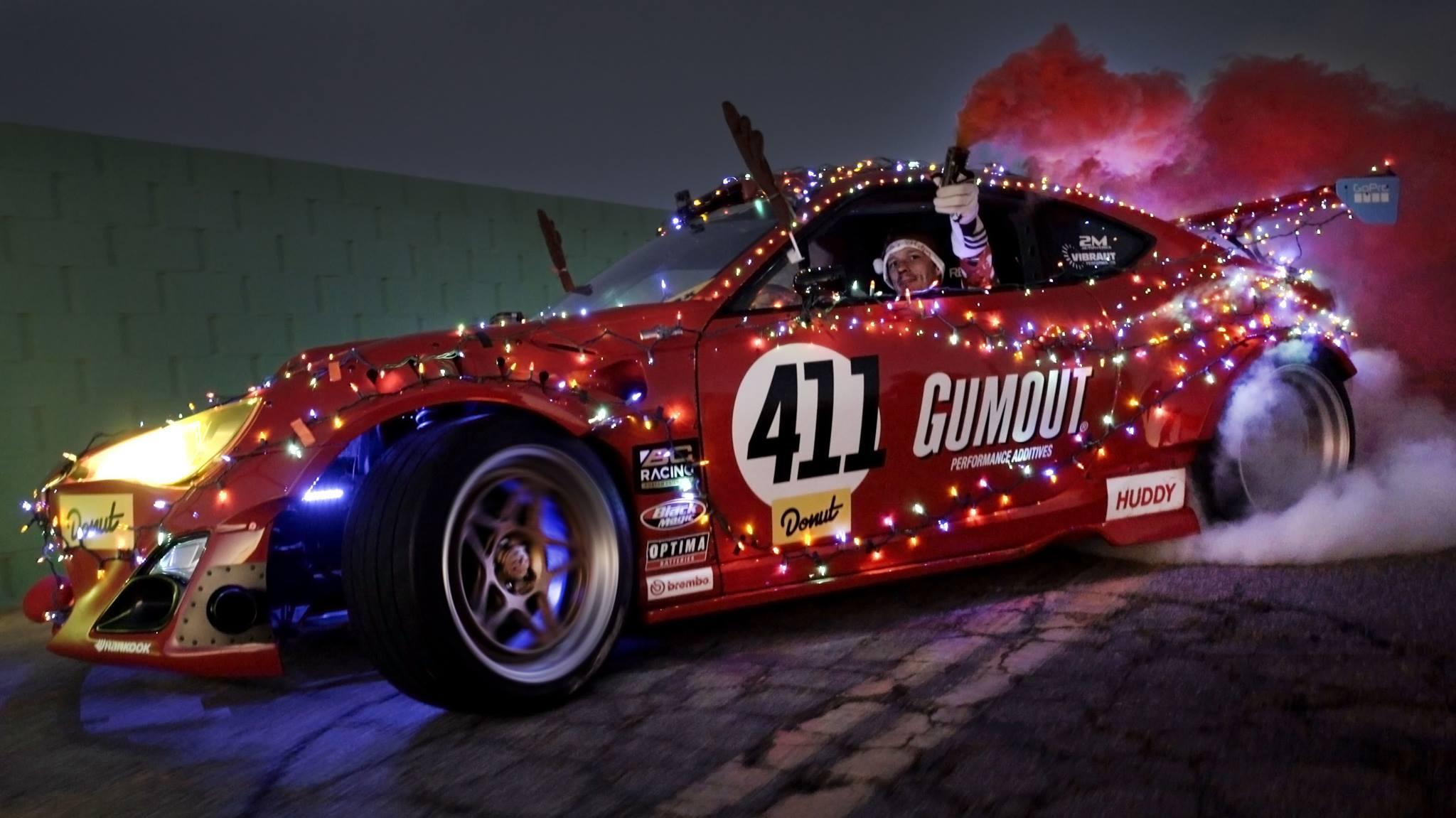 Ryan tuerck delivers christmas gifts in ferrari powered for Ferrari christmas