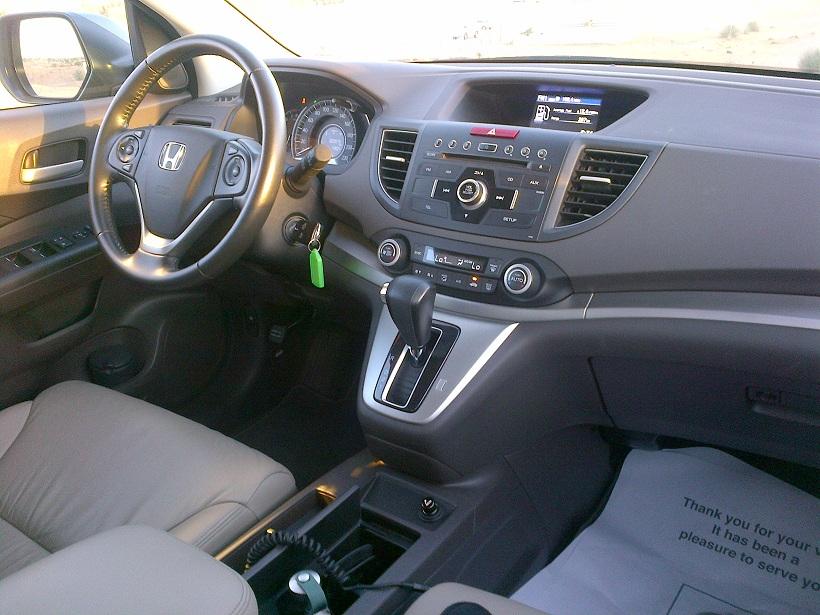2012 honda crv review qatar yallamotor for Honda cr v 2013 interior