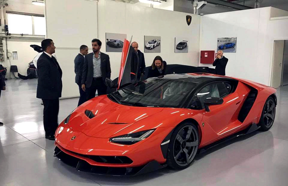 First Lamborghini Centenario Delivered To Uae Royalty Qatar