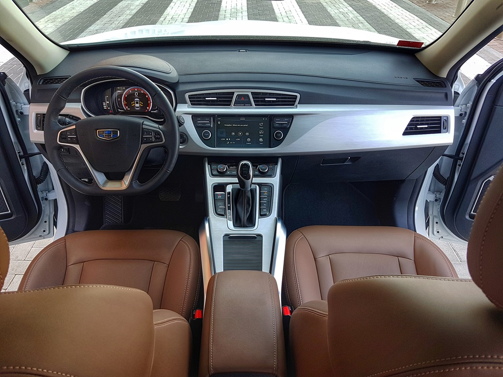Geely Emgrand X7 Geely Emgrand X Review Egypt Yallamotor