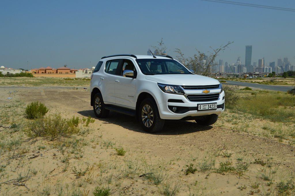 Chevrolet Trailblazer 2017 Review Qatar Yallamotor