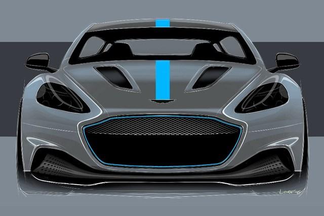 Aston Martin RapidE Front