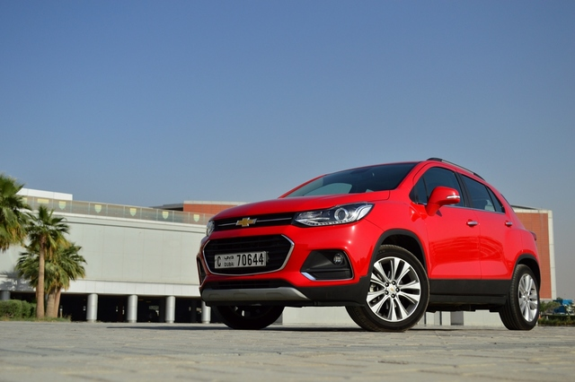 Chevrolet Trax 2017 Front - 2