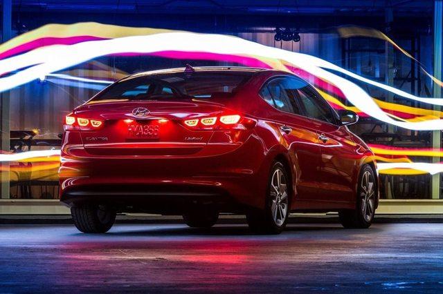 Hyundai Elantra 2017 Rear