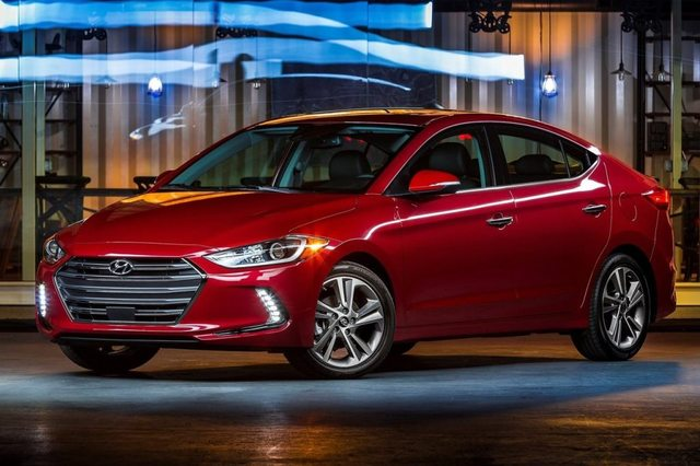 Hyundai Elantra 2017 Front
