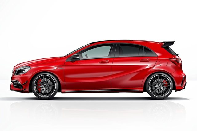Mercedes Benz A45 AMG Side