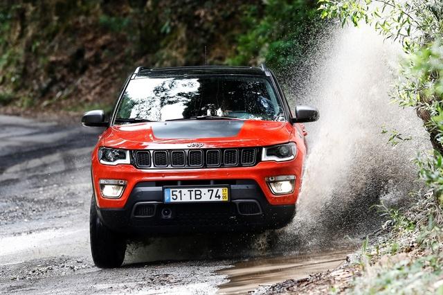 Jeep Compass 2018 Water Splash