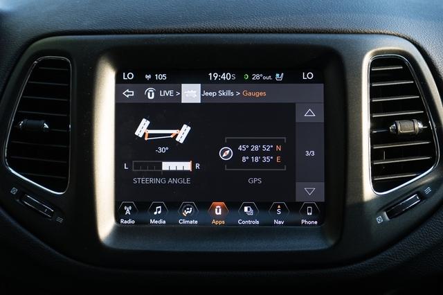 Jeep Compass 2018 Screen