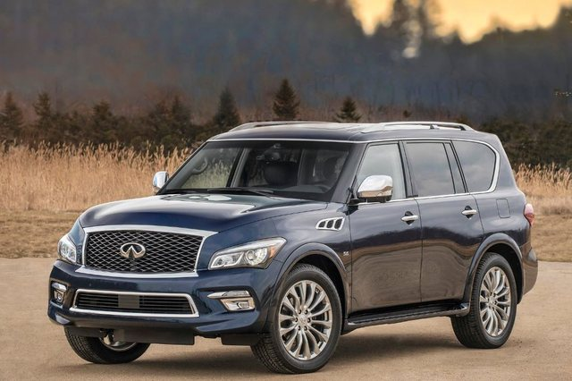 2017 Infiniti Qx80 Vs Nissan Patrol Comparison