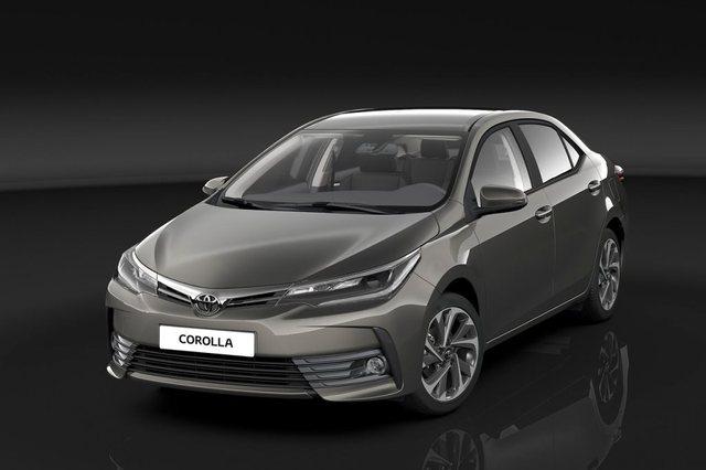 Toyota Corolla 2018 Front