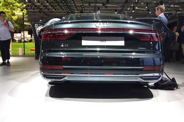 Audi A8 2018 Rear